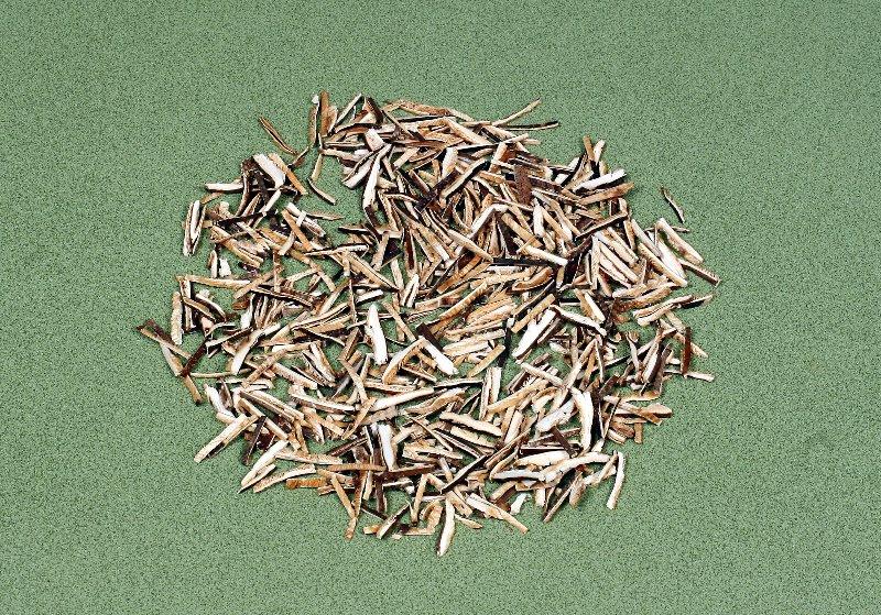 日本産原木乾椎茸 再乾燥スライス 3㎜×3㎝