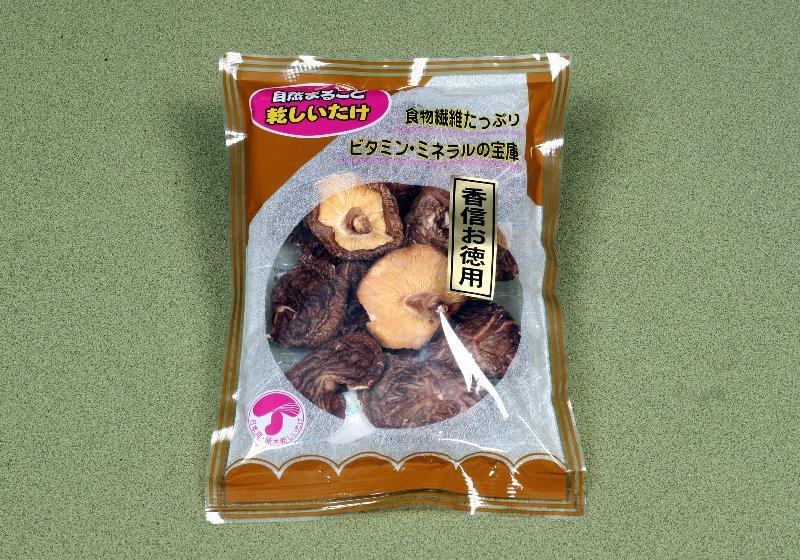 日本産原木乾椎茸 香信徳用50g