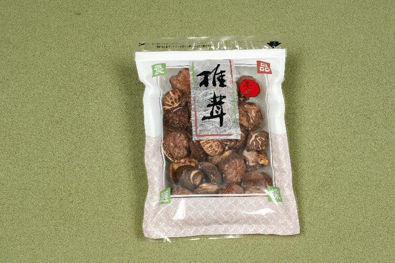 日本産原木乾椎茸 冬菇(並)120g