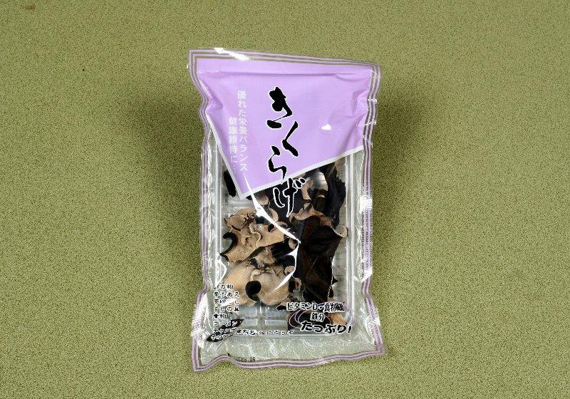 中国産菌床裏白きくらげホール32g