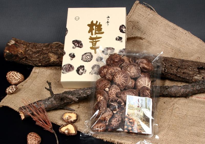 日本産原木乾椎茸簡易ギフト K-301